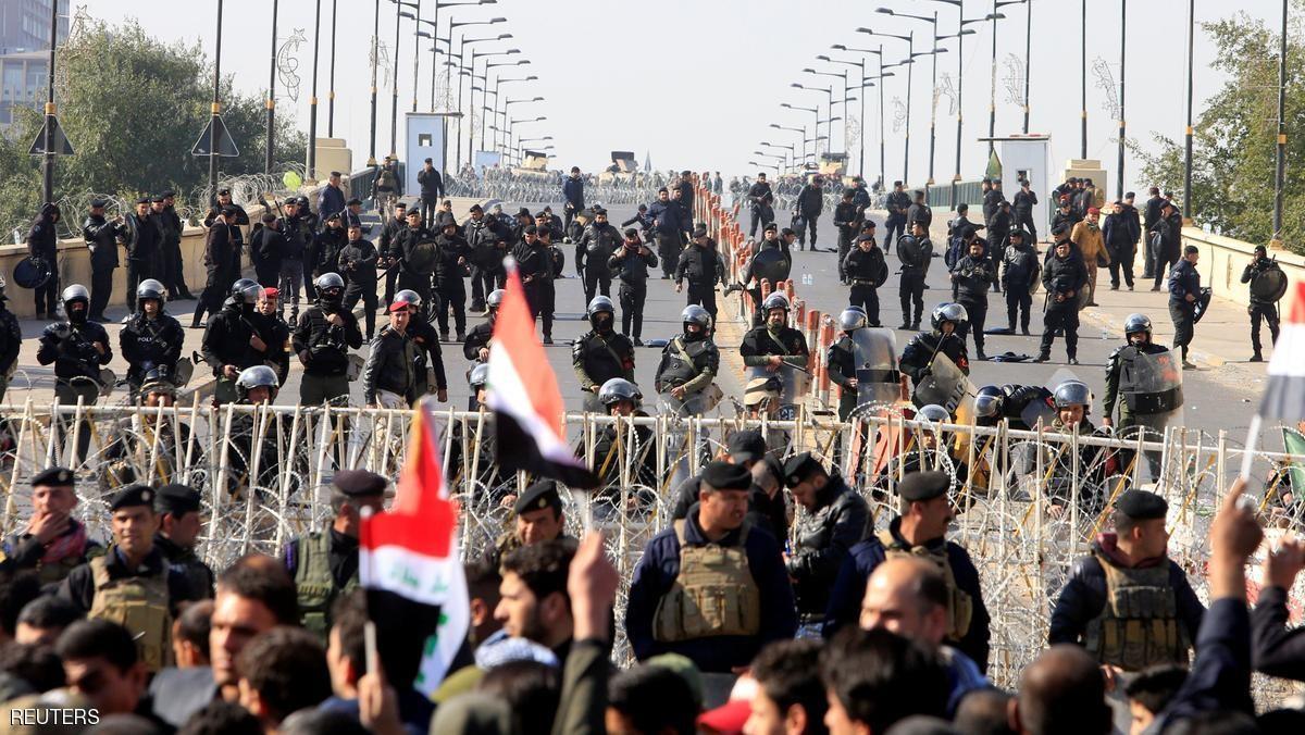 «Предвыборные» протесты вБагдаде: встолкновениях умер полицейский