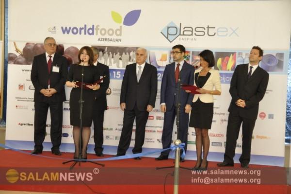 В Баку открылась XVIII Азербайджанская международная выставка пищевой промышленности