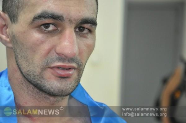 Азербайджанский боксер одержал блестящую победу на турнире в подмосковном Климовске