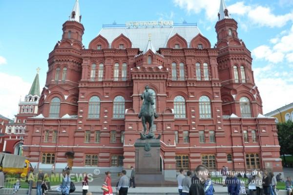 """Rusiya dövlətinin """"qəlbi"""" – Moskva Kremli"""