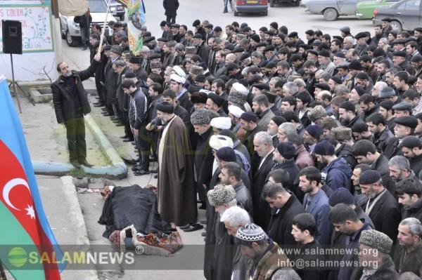 İslam  partiyasının mərhum sədri Əlikram Əliyevlə vida mərasimi  keçirilib