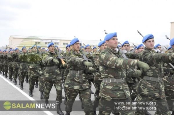 Внутренние войска МВД Азербайджана отметили 19-летие