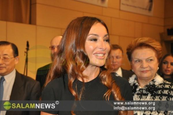 Первая леди Азербайджана принимает участие во Всемирной конференции ЮНЕСКО в Москве