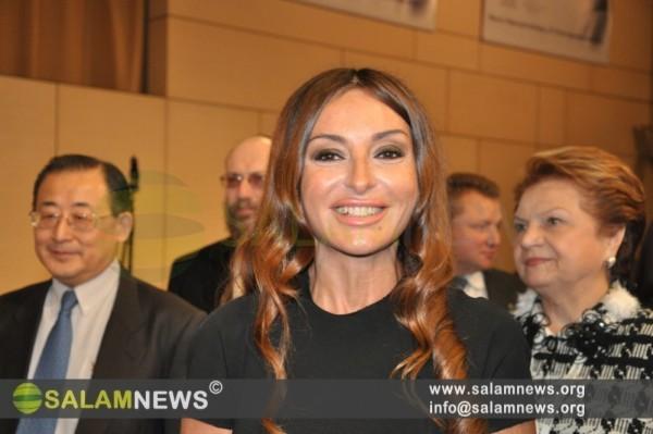 Azərbaycanın birinci xanımı Moskvada YUNESKO-nun Ümumdünya konfransında iştirak edib