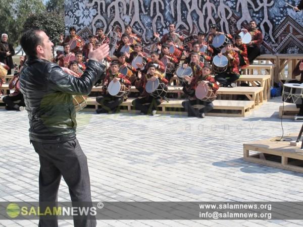 Milli Park Novruz şənliklərinə tam hazırdır