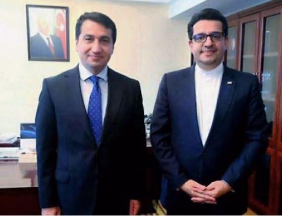 Помощник Президента Азербайджана Хикмет Гаджиев встретился с послом Ирана