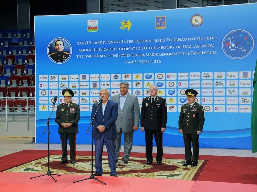 Состоялся международный турнир по дзюдо, посвященный памяти Ази Асланова