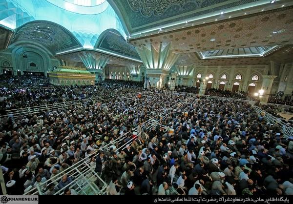 İranda İslam İnqilabının banisi Ayətullah Musəvi Xomeyninin vəfatının 27-ci ildönümü qeyd olunub