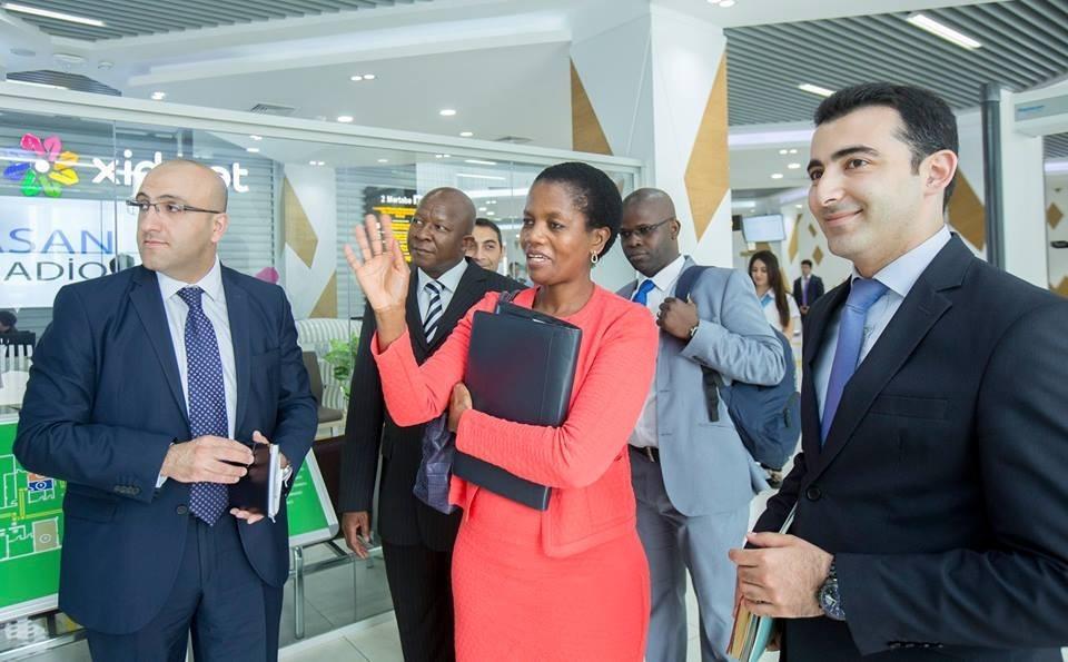 Посол ЮАР в Турции ознакомился с центром «ASAN xidmət»