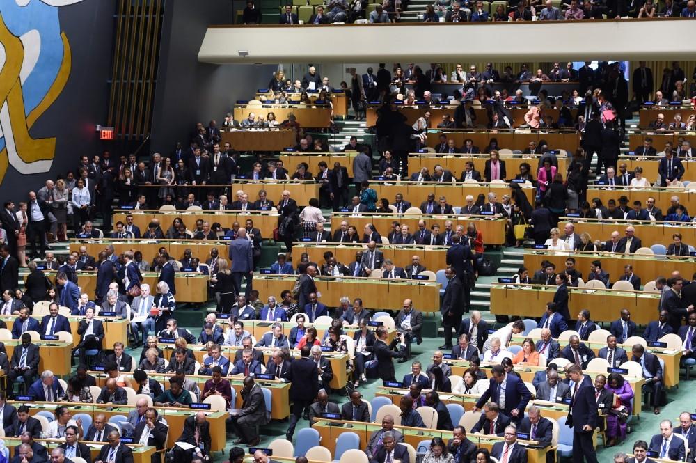 Президент Ильхам Алиев принял участие на консилиуме пореформированию ООН вНью-Йорке