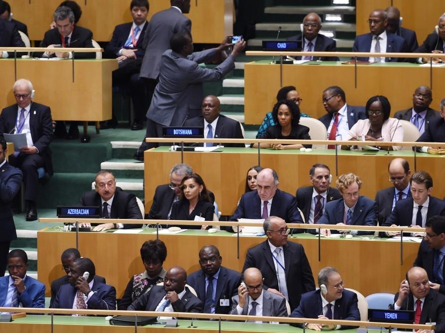 Генеральный секретарь ООН выразил главе Азербайджана обеспокоенность из-за Карабаха