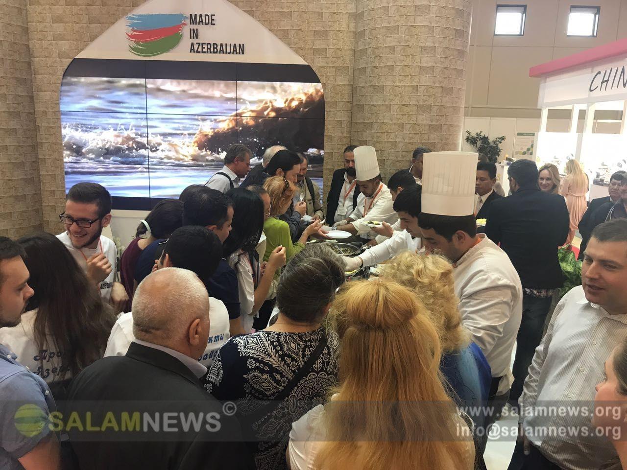 """Azərbaycan """"WorldFood Moscow"""" sərgisində təmsil olunur"""