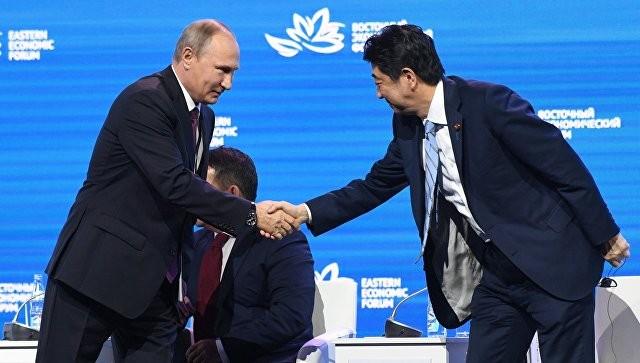Синдзо Абэ готов подписать сРоссией мирный договор