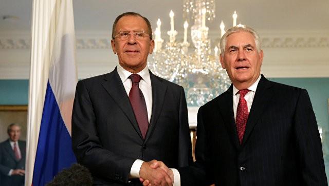Лавров иТиллерсон обсудили общее урегулирование конфликта вСирии