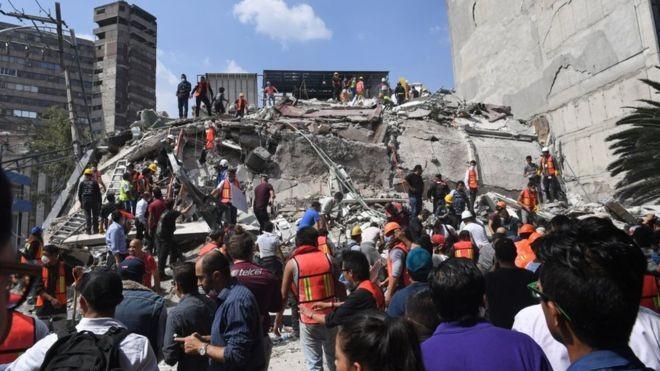 США готовы предложить Мексике помощь после землетрясения