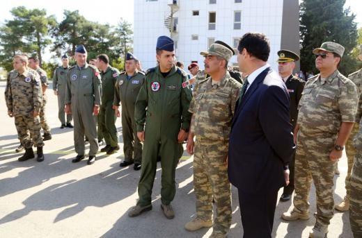 ВАзербайджане начались большие военные учения