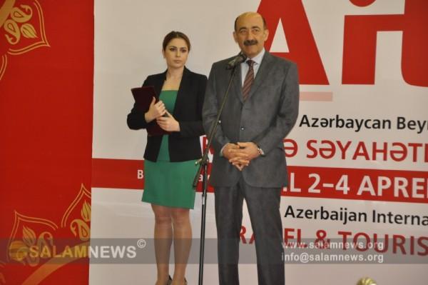 «Баку Экспо Центр» состоялось открытие AITF 2015