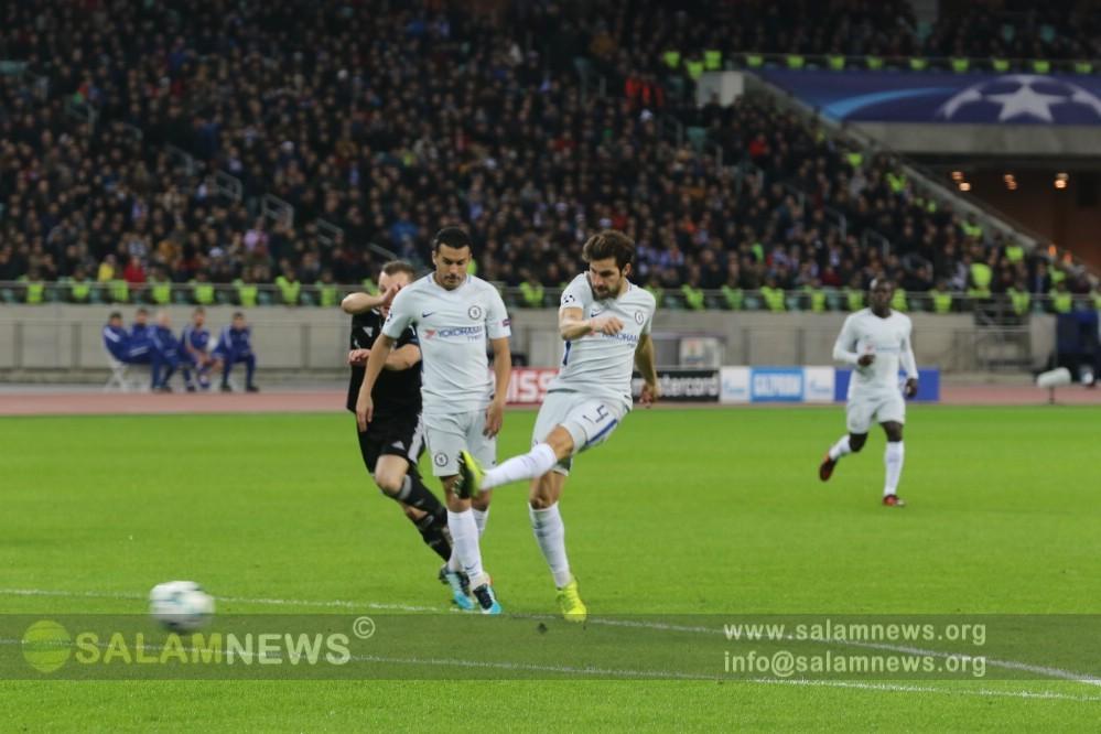 «Карабах» провел очередной матч в Лиге чемпионов УЕФА