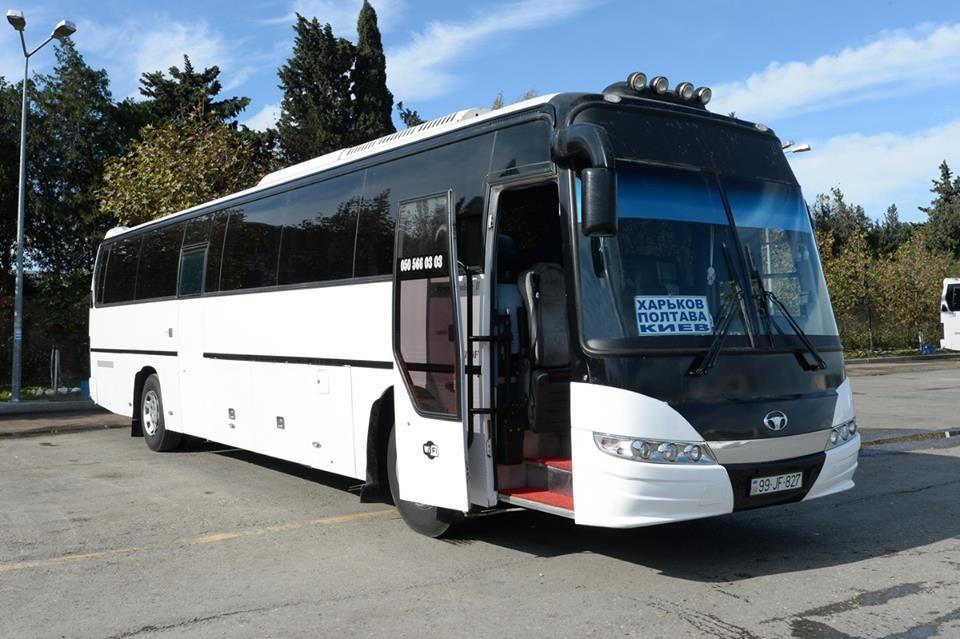 Из столицы Украины вБаку запустят новый автобусный маршрут
