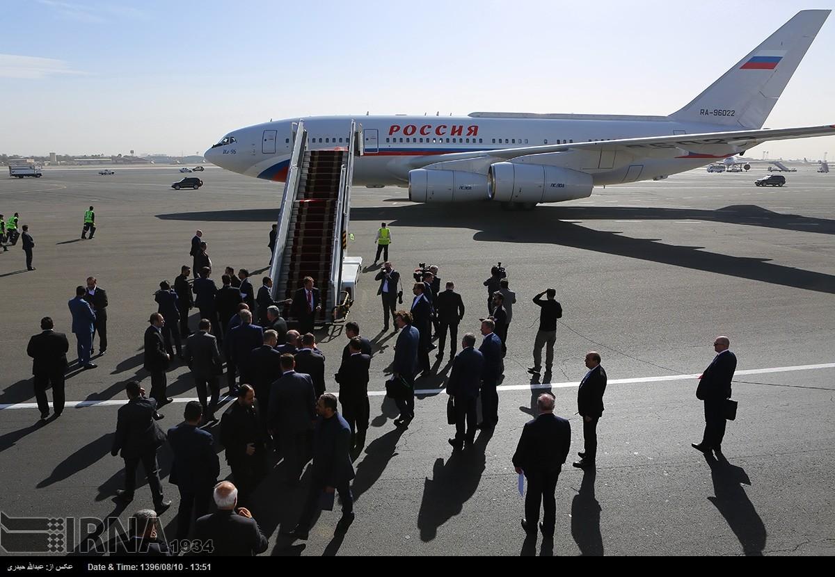 Vladimir Putin Tehranda səfərdədir (FOTOLAR)