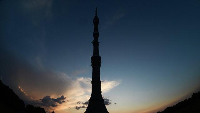 Неизвестные сообщили о«минировании» Останкинской башни в российской столице