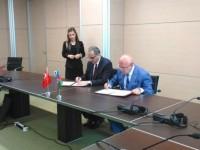 Azərbaycan və Türkiyə Dövlət Gömrük Komitələri arasında protokol imzalanıb