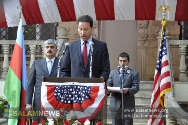 В Баку состоялся дипломатический прием в честь национального праздника США - Дня Независимости