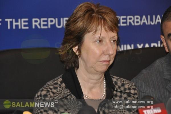 """К.Эштон: """"ЕС готов оказать поддержку разрешению нагорно-карабахского конфликта"""""""