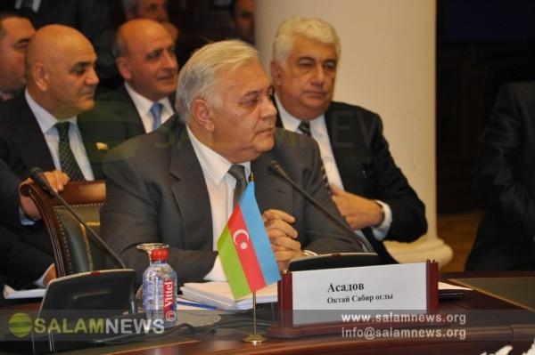 Председатель Милли Меджлиса принял участие в заседании Межпарламентской Ассамблеи государств-участников СНГ
