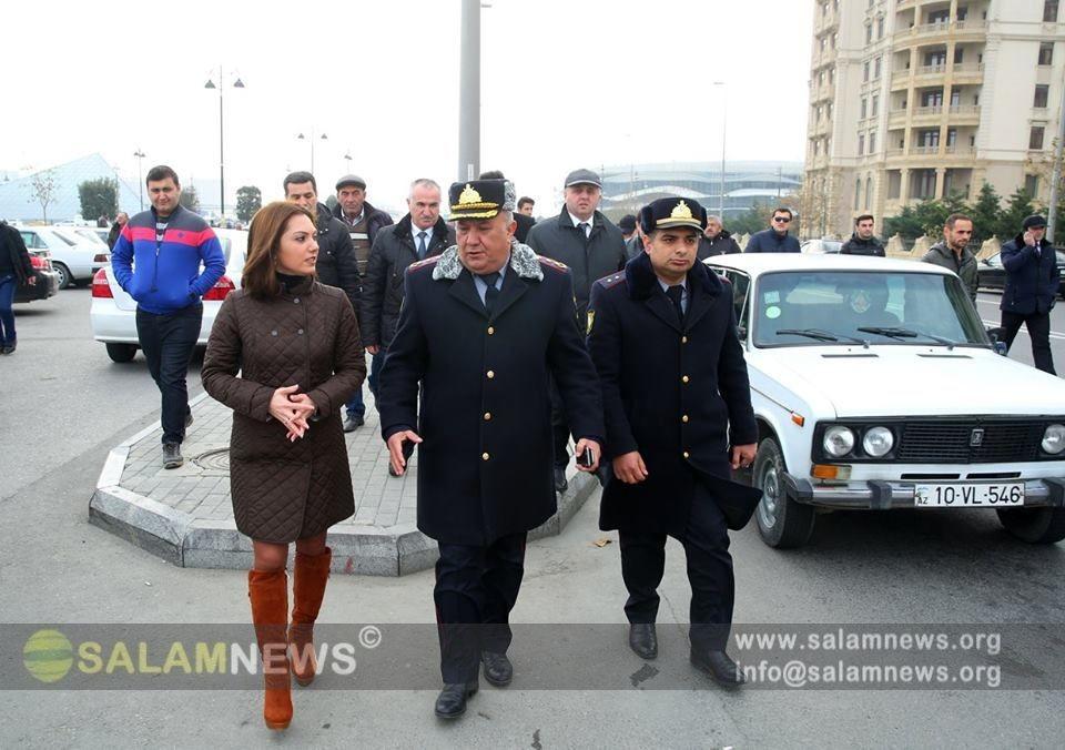 BNA və Yol Polisi Bakıda maarifləndirici tədbirlərə başlayıb