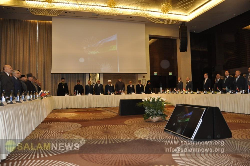 В Баку проходит очередное заседание Высшего религиозного совета народов Кавказа
