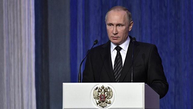 Путин призвал отслеживать все изменения баланса сил уграницРФ