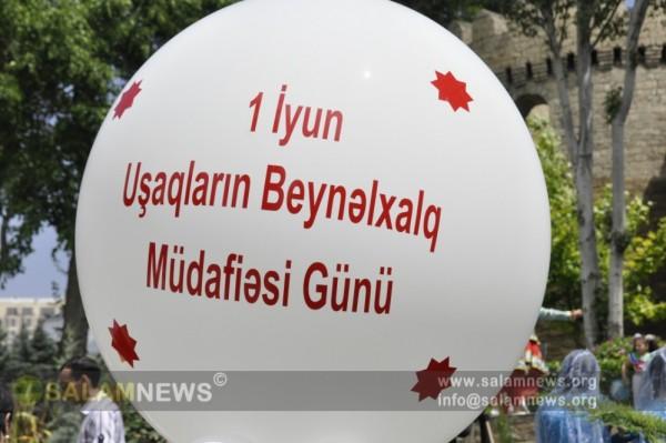Uşaqların Beynəlxalq Müdafiəsi Günü ilə əlaqədar bayram tədbiri keçirilir