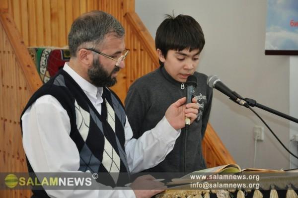 Moskvada peyğəmbər (s) mövlud gününə həsr olunmuş Quran oxumaq müsabiqəsi keçirilib