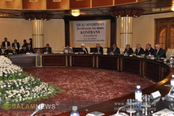 В УМК состоялось мероприятие, посвященное ходжалинскому геноциду