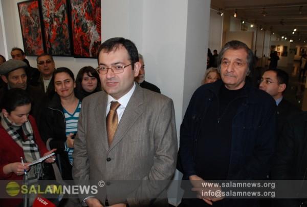 В Баку открылась выставка «Вечер современного творчества»