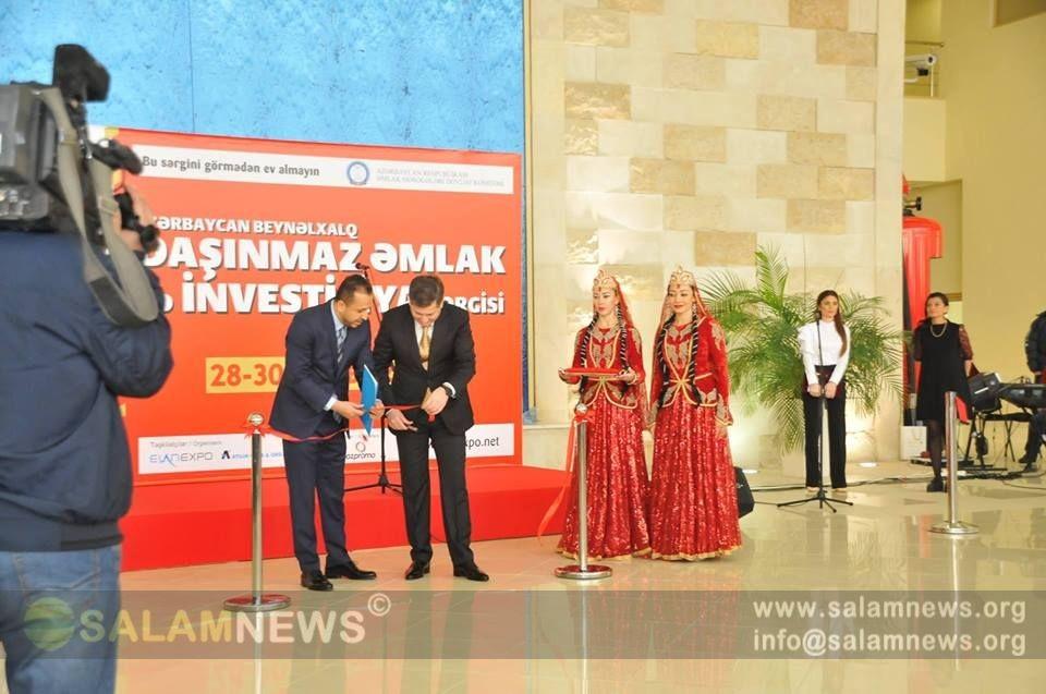 Bakıda III Azərbaycan Beynəlxalq Daşınmaz Əmlak və İnvestisiya Sərgisi açılıb