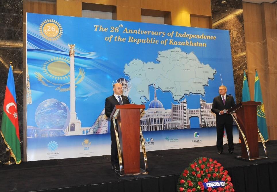 Азербайджан— основной торгово-экономический партнер Казахстана вКавказском регионе— Посол