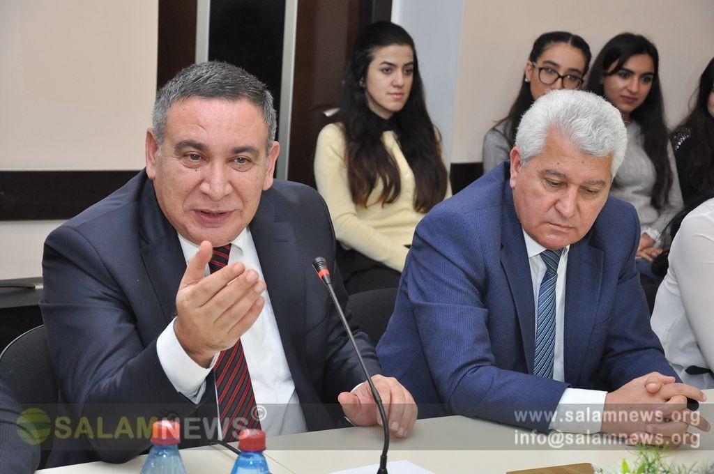 """""""Müasir Azərbaycan mətbuatı və """"525-ci qəzet"""" mövzusunda konfrans keçirilib"""