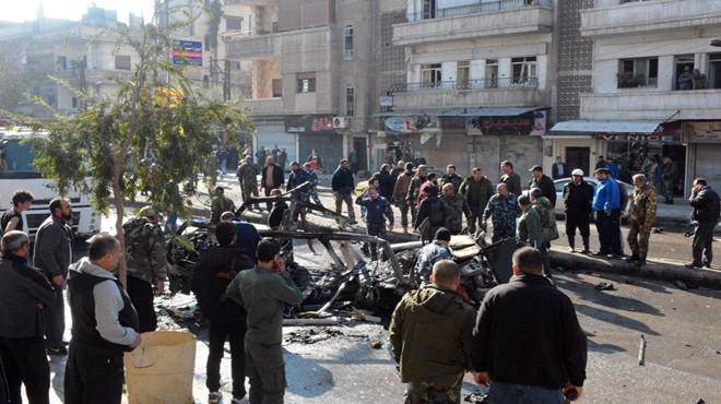 Взрыв прогремел вавтобусе вцентре Хомса, есть жертвы ираненые