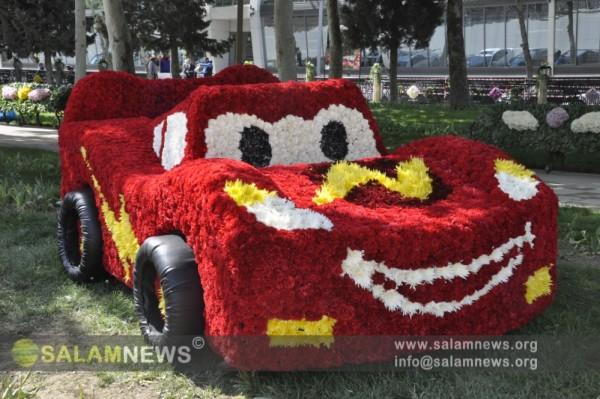 В Баку отмечается Праздник цветов