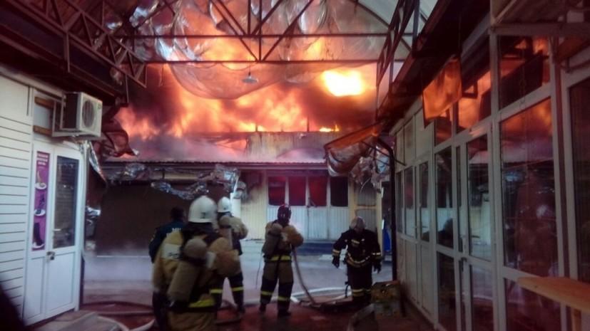 ВКБР после пожара вНальчике проверят все рынки республики