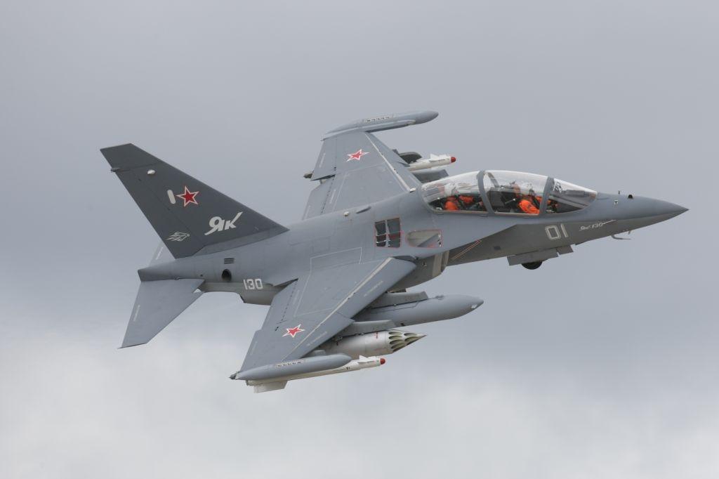 ВМинобороны поведали подробности падения самолета Як-130 вВоронежской области