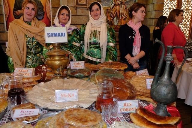 """Bakıda """"Çörək festivalı"""" keçirilib"""