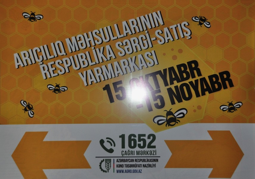 Bakıda arıçılıq məhsullarının respublika sərgi-satış yarmarkası açılıb