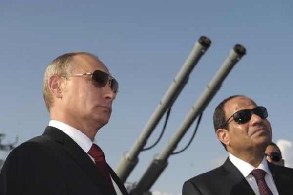Русские десантники направились вЕгипет научения