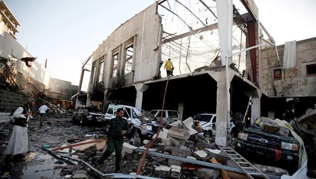 Саудовская Аравия признала, что самолёт коалиции нанёс удар поСане
