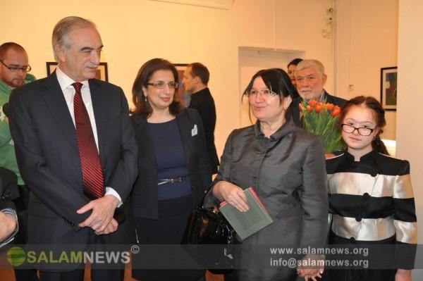 В Москве открылась выставка азербайджанской художницы Марьям Алекберли
