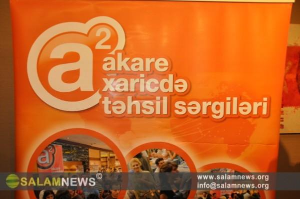"""Bakıda """"Xaricdə təhsil"""" sərgisi açılıb"""