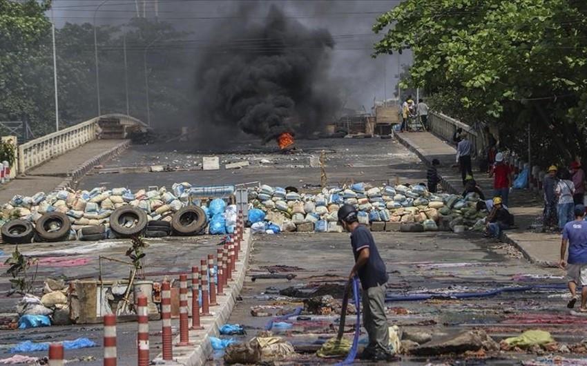 Разгон протестов в Мьянме: число убитых противников хунты достигло 570